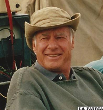 John Frankenheimer, realizador de El Hombre de Kiev