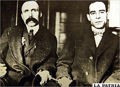 Sacco y Vanzetti en 1921