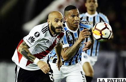 Gremio consigue un valioso triunfo ante River Plate gracias a Michel c68d7f9d5e214