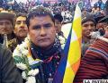 Jacinto Herrera, dirigente de la Conalcam /Diario El Día Bolivia