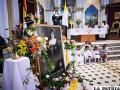 La imagen de la Santa Nazaria Ignacia acompañó a la ciudadanía en la celebración / LA PATRIA