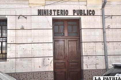 El sujeto fue trasladado a dependencias del Ministerio Público /LA PATRIA