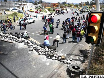 Incrementan las protestas en Ecuador, la población no está de acuerdo con el alza de subvención de combustible /Reuters