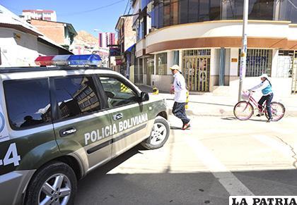 Incluso la Policía debe tramitar la circulación de vehículos /LA PATRIA /ARCHIVO