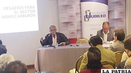 Hugo Del Granado, experto en temas energéticos /ANF /Captura de video