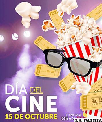 Promoción por el Día Internacional del Cine en Oruro /Facebook