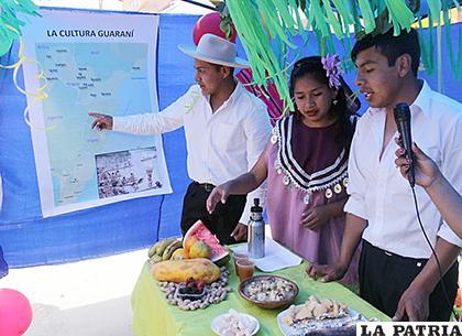 Estudiantes demostraron la diversidad cultural que tiene el país /LA PATRIA