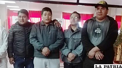 Franclin Gutiérrez y otros involucrados estuvieron presentes para que se llegue a la verdad del hecho /FM Bolivia