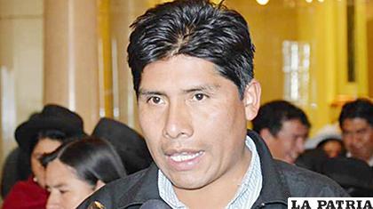 El diputado Franklin Flores /ANF