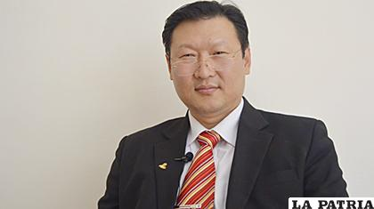 El candidato por el Partido Demócrata Cristiano (PDC) Chi Hyun Chung /ANF