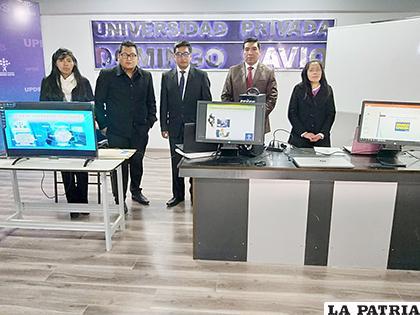 Estudiantes de la universidad Domingo Savio aplican el conocimiento/