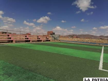 Los campos deportivos quedaron abandonados en la época de pandemia /archivo LA PATRIA
