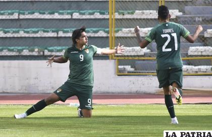 Marcelo Martins, es carta goleadora en la Selección Nacional /APG