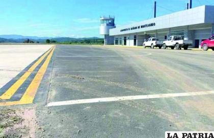 """Según ministro Arias, el aeropuerto de Monteagudo es un """"elefante blanco"""" / erbol.com"""