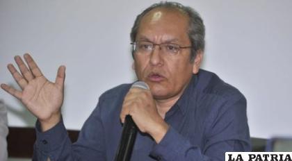 El periodista Walter Chávez /brujuladigital.net