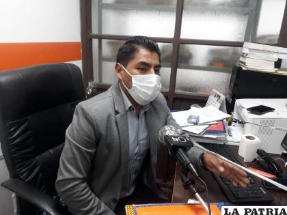 El fiscal Castro dio detalles de la investigación / LA PATRIA
