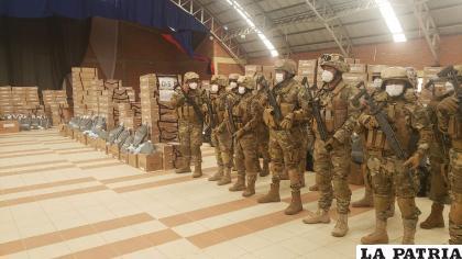 Las maletas electorales son resguardadas por el Ejército y la Policía / LA PATRIA