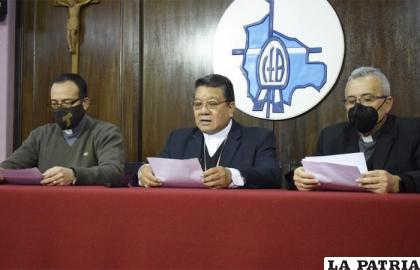 La CEB exhortó evitar la violencia a la ciudadanía //ERBOL