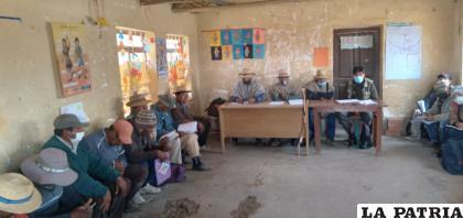 La dotación de tierras podrá ayudar de gran forma a las comunidades Uru /INRA