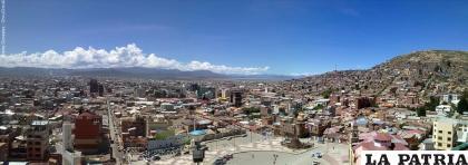 10 murales adornarán las calles de Oruro desde el 1 de noviembre /LA PATRIA