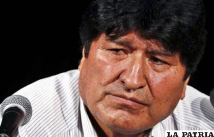 El expresidente Evo Morales es imputado por terrorismo /erbol.com