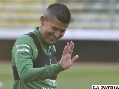 Esperan que Juan Carlos Arce se recupere y pueda jugar el jueves /APG