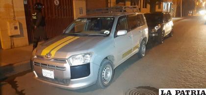 El vehículo de servicio público fue golpeado por la parte posterior /LA PATRIA