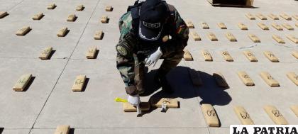 Durante la prueba de campo, la sustancia dio positivo para marihuana / LA PATRIA