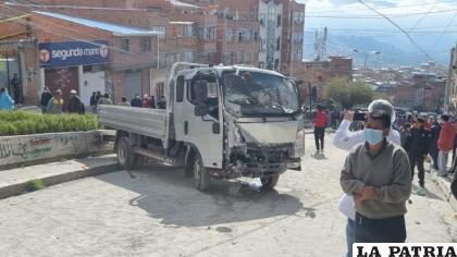 El motorizado chocó con al menos cinco vehículos /ANF