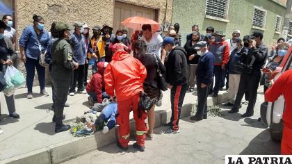 Suman siete los heridos tras el accidente de tránsito /LA PATRIA