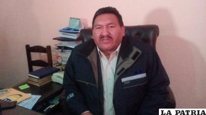 El dirigente de la Federación Andina de Choferes de El Alto, Víctor Tarqui /Archivo Internet