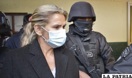 La expresidente de Bolivia, Jeanine Áñez /APG