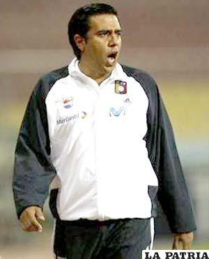 César Farías D.T. de Venezuela