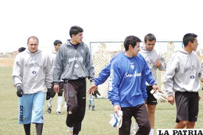 Jugadores de San José vuelven hoy a los entrenamientos