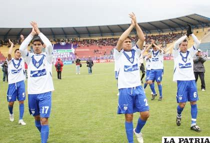 La victoria ante Real Potosí, dejó atrás los malos resultados