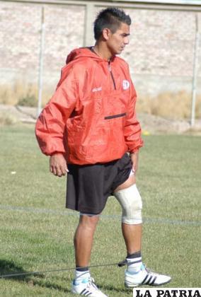 Juan Maraude, después de un permiso especial, ayer estuvo presente en las prácticas