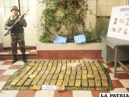 A pesar de los operativos, la producción de droga en el país es todavía preocupante