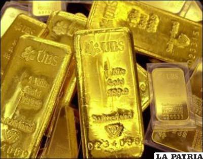 El BCB fundirá oro para aumentar su pureza