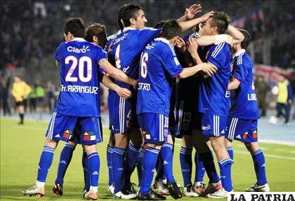 Jugadores de la U de Chile quieren hacer historia