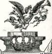 Una lámina de oro y plata enviada desde Oruro al Congreso Argentino muestra un angelito portando un blasón donde se distingue claramente el escudo colonial orureño con el cerro Pie de Gallo y el Calvario