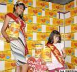 Señorita Oruro 2011 y Miss Chiquitita invitan a la población a apoyar la Teletón que concluye mañana