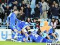 Barcelona no pudo ante el elenco de Getafe y al final sus integrantes festejaron el triunfo