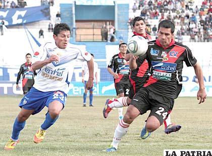 San José venció 2 a 0 en el partido ida