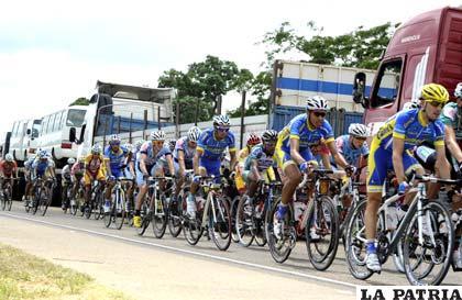 Los ciclistas participantes están en Santa Cruz  (APG)
