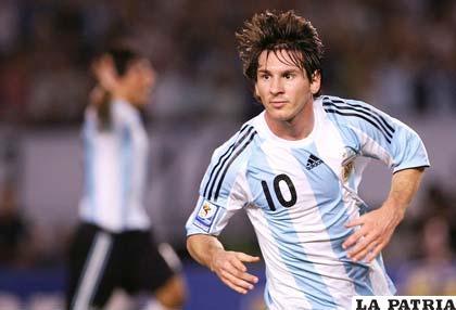 El  futbolista argentino Lionel Messi (GLOBEDIA.COM)