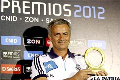 El  director técnico portugués José Mourinho (LAINFORMACION.COM)