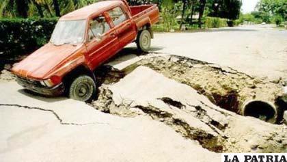 El terremoto en Guatemala destruyó viviendas y caminos (24horas.cl)