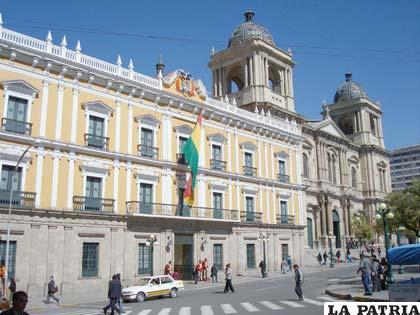 Palacio de Gobierno que pretende ser destruida para edificar una nueva (turismoenfotos.com)