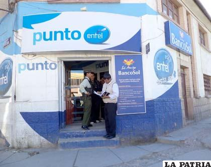 Sucursal de Banco Sol