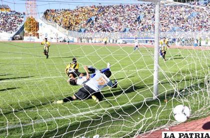 Palacios anotó para San José, al final no le sirvió de mucho al equipo orureño